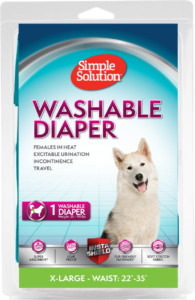 Simple Solutions Washable Female Dog Diaper – X Large