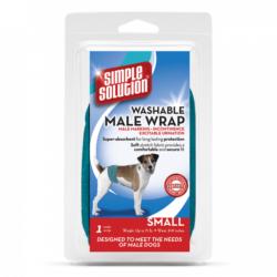 Vets Best Perfect Fit Washable Male Wrap
