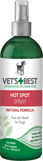 Vet's Best Hot Spot Itch Relief Spray for Dogs -470ml