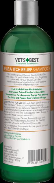 Vet's Best Flea Itch Relief Shampoo