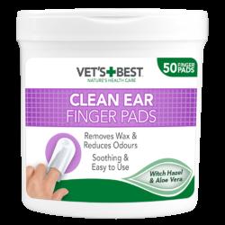 Vet's Best Clean Ear Finger Pads