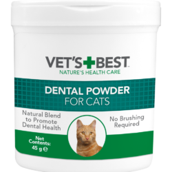 Vet's Best Dental Powder for Cats – 45g