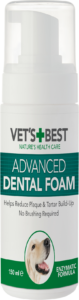 Vet's Best Mouthwash Foam for Dogs – 150ml