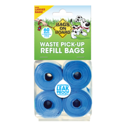 Bags on Board Blue Refill Rolls – 60