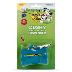 Bags on Board Cushy Waste Pick Up Dispenser – Teal