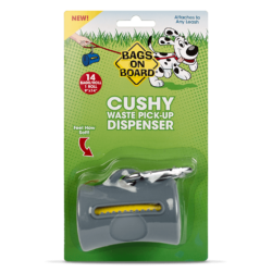 Bags on Board Cushy Waste Pick Up Dispenser – Grey