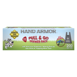 Hand Armour 2X Extra Thick Bags – Drawer Pack 200 Bags