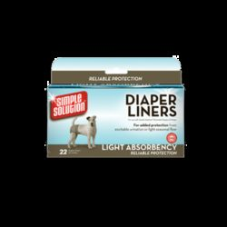Simple Solution Diaper Liners Light Absorbency