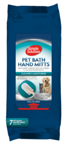 Simple Solution Pet Bath Hand Mitts