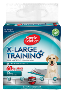 Simple Solution Extra Large Puppy Training Pads – 10