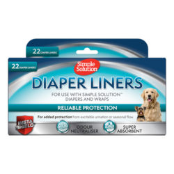 Disposable Dog Diaper Liners  – 22 Pack