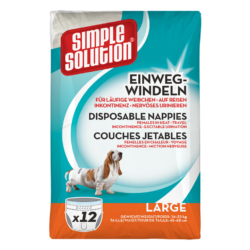 Simple Solution Disposable Diapers – Large
