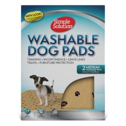 Simple Solution Washable Travel Pads  Two Pack (Medium)
