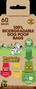 Bags on Board 100% Biodegradable Poop Bags – 60