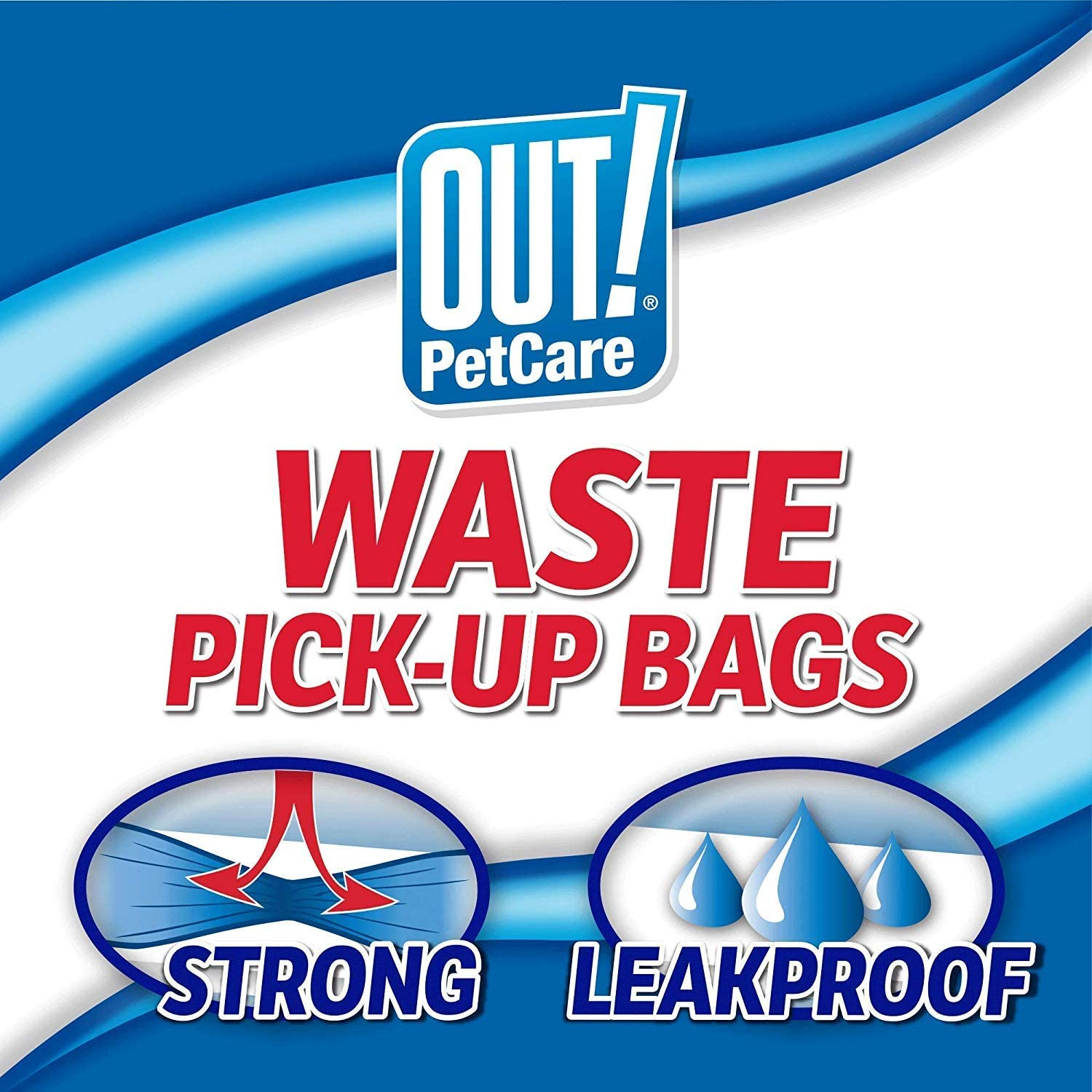 Out Petcare Green Waste Pick-Up Bags 120 ct.