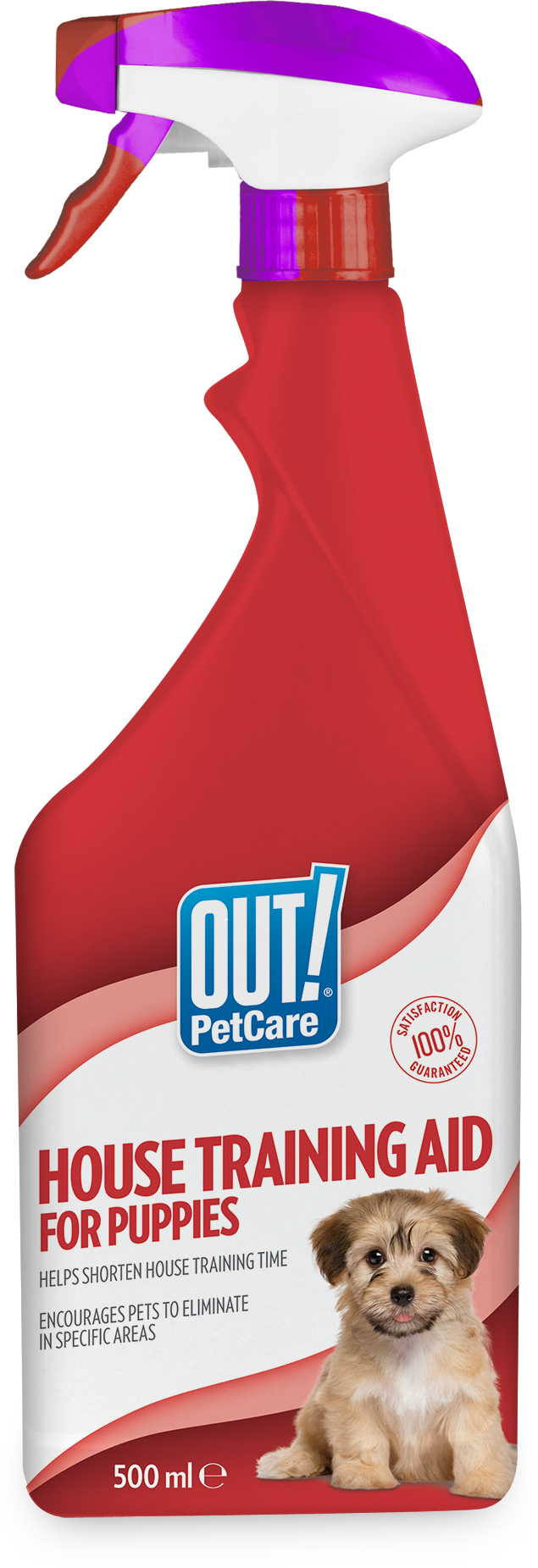 Out Petcare House Training Aid Spray for Puppies