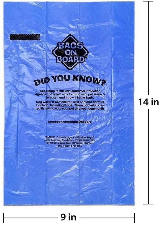 Bags on Board Blue Refill Rolls - 140