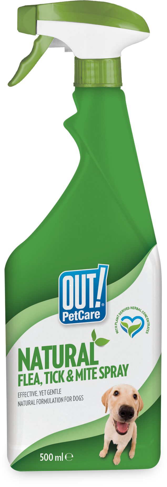 Out Petcare Natural Flea, Tick  & Mite Spray