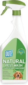 Out Petcare Natural Pest Wash Spray