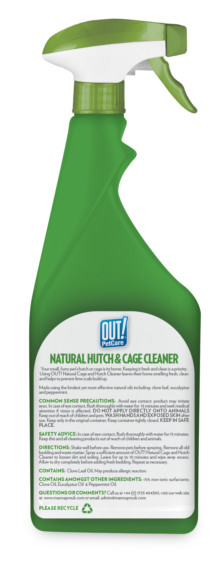 Out Petcare Cage & Hutch Cleaner