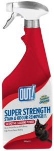 Out Petcare Super Strength Stain & Odor Remover – Trigger Bottle 500ml