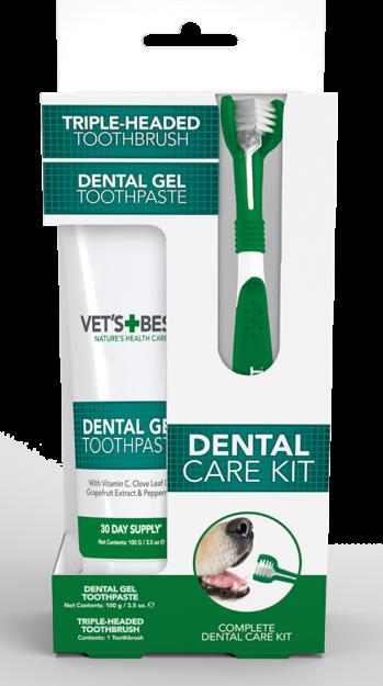 Vet's Best Dental Kit for Dogs