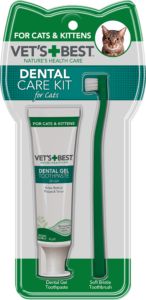 Vet's Best Dental Care Kit for Cats